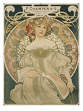 Poster for F Champenois  1897